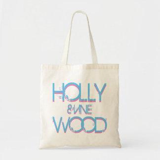 Hollywood y vid bolsa tela barata