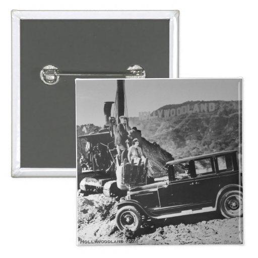 Hollywoodland 1924 pin