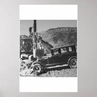 Hollywoodland 1924 print