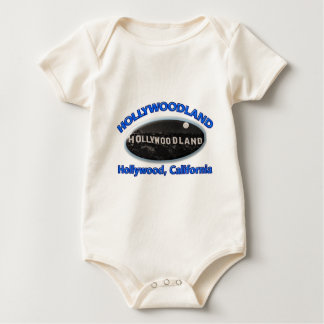 Hollywoodland Sign Baby Bodysuit