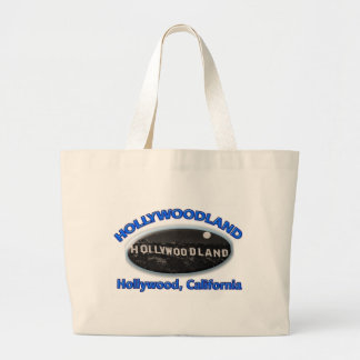 Hollywoodland Sign Canvas Bag