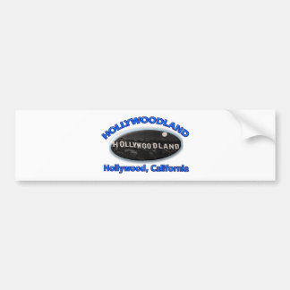 Hollywoodland Sign Bumper Sticker