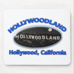 Hollywoodland Sign Mouse Pad