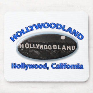 Hollywoodland Sign Mousepads