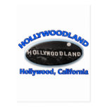 Hollywoodland Sign Postcard