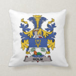 Holm Family Crest Pillows