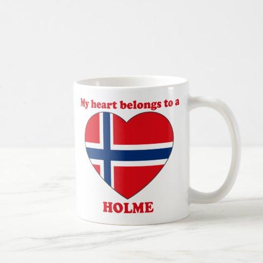 Holme Classic White Coffee Mug