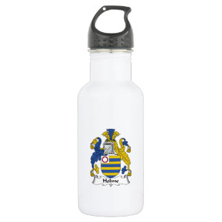 Holme Family Crest Stainless Steel Water Bottle