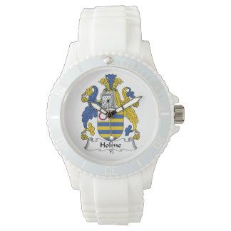 Holme Family Crest Wrist Watch