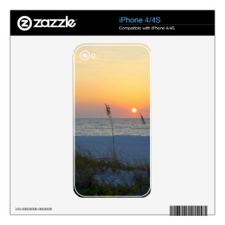 Holmes Beach Sunset Decal For The iPhone 4