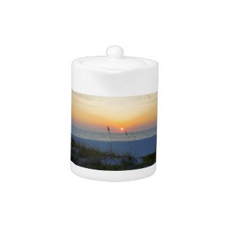 Holmes Beach Sunset Teapot