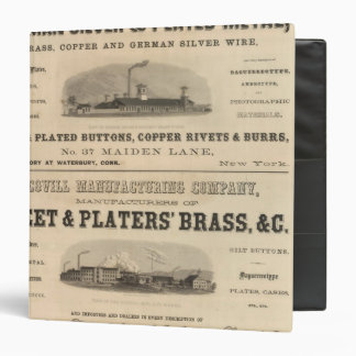 Holmes, Booth and Haydens 3 Ring Binder