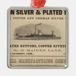 Holmes, Booth and Haydens Metal Ornament