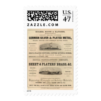Holmes, Booth and Haydens Postage