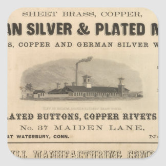 Holmes, Booth and Haydens Square Sticker