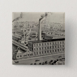 Holmes & Edwards Silver Co Pinback Button