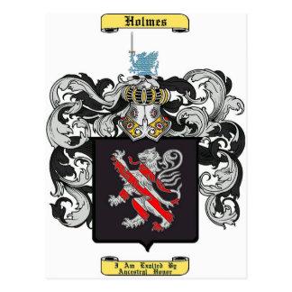 Holmes (england) postcard