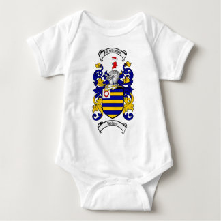 HOLMES FAMILY CREST -  HOLMES COAT OF ARMS BABY BODYSUIT