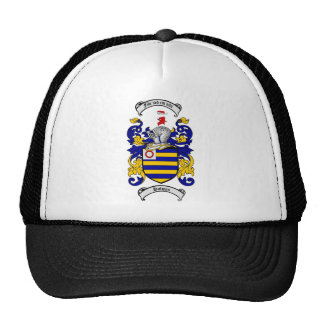 HOLMES FAMILY CREST -  HOLMES COAT OF ARMS TRUCKER HAT
