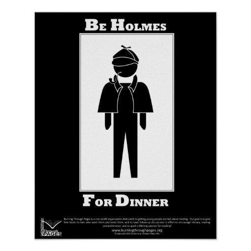 Holmes For Dinner Posters