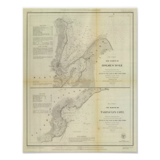 Holmes' Hole, Tarpaulin Cove Posters