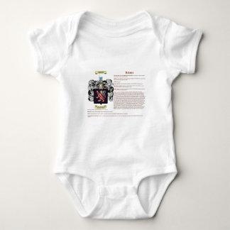 Holmes (inglés (significado)) body para bebé