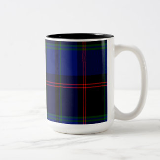 Holmes Scottish Tartan Two-Tone Coffee Mug