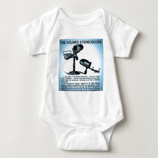 Holmes Stereoscope Advertisement (Cyanotype) Baby Bodysuit