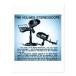 Holmes Stereoscope Advertisement (Cyanotype) Post Cards