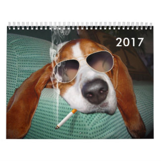 Holmes, that 'Bad Boy Basset, is back! Calendar