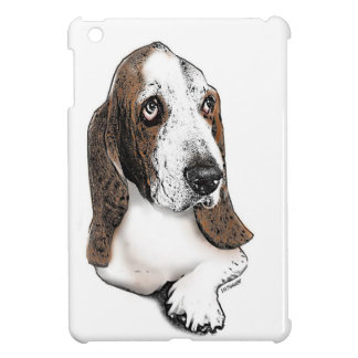 Holmes the Beautiful Basset Hound Cover For The iPad Mini