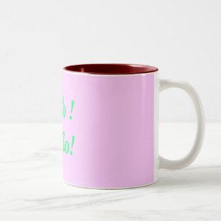 Holo !Hello! Two-Tone Coffee Mug