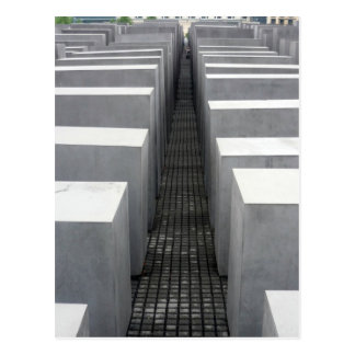 holocaust jewish memorial postcard