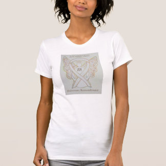 Holocaust Remembrance White Awareness Ribbon Shirt