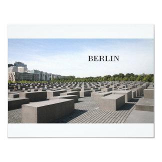 """Holocausto de Alemania Berlín (St.K) Invitación 4.25"""" X 5.5"""""""