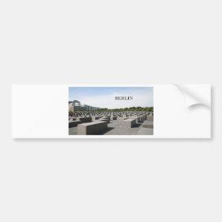 Holocausto de Alemania Berlín (St.K) Pegatina Para Auto