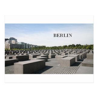 Holocausto de Alemania Berlín (St.K) Postal