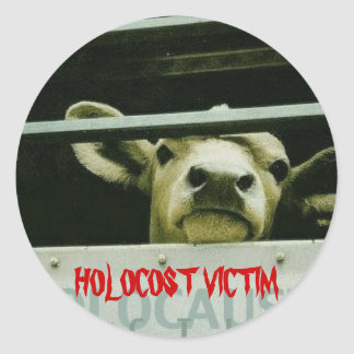 Holocost Victim Round Stickers