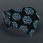 """Hologram D20 Pattern 