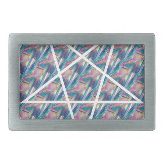 hologram pentagram belt buckle