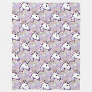 hologram unicorn emoji bedroom blanket