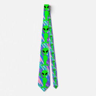 holograma extranjero corbata personalizada