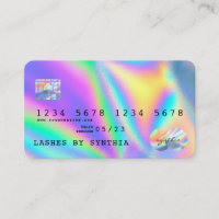 Holograph  Modern Credit Card Style