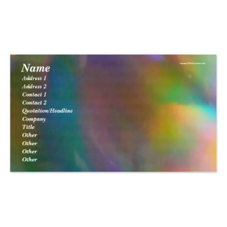 Holographic Background Business Card