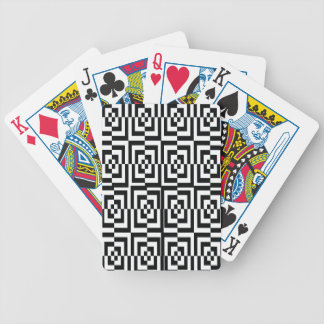 Holographic confused black. bicycle playing cards