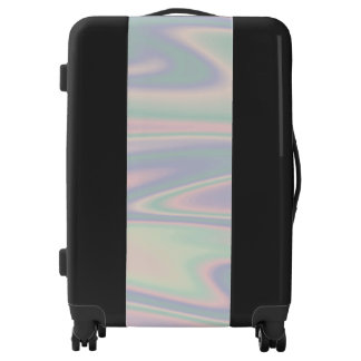 Holographic Design Luggage