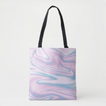Holographic Design Tote Bag