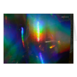 Holographic Flame Cards