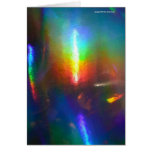 Holographic Flame Greeting Cards