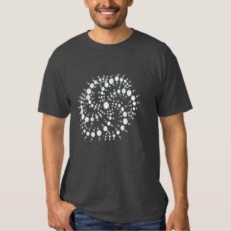 """""""Holographic Flow"""" Crop Circle Shirt"""
